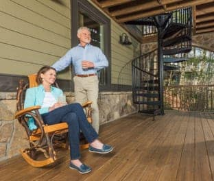 lifetime guarantee outdoor spiral staircase