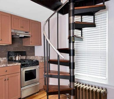 economy steel spiral stair kit gallery