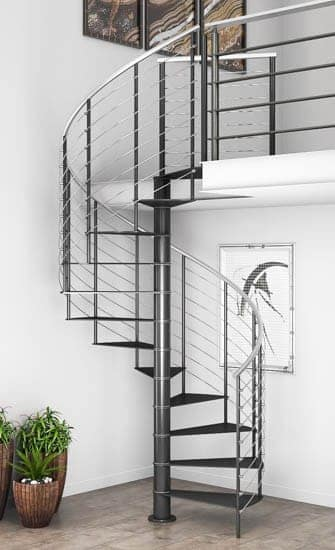 prefabricated metal stairs