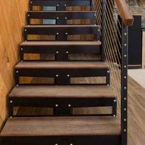 Awesome Prefab Straight Stairs
