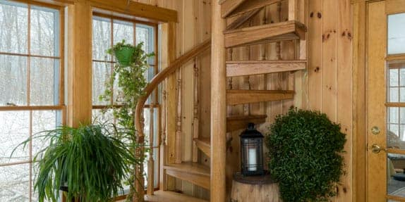 small-cabin-spiral-stairs
