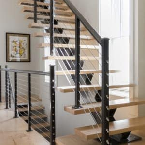 floating stairs for tiny houses