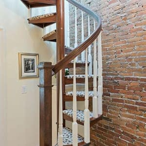 compact custom staircase