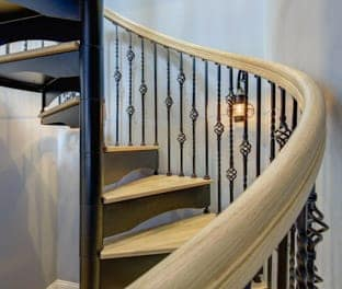 one a kind spiral staircase