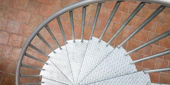 galvanized-spiral-stairs