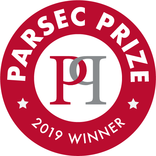 parsec prize 2019 winner badge