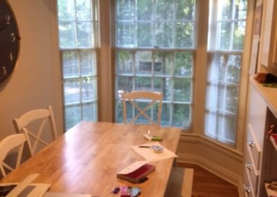 Shaker Heights Dining Table Before Renovation