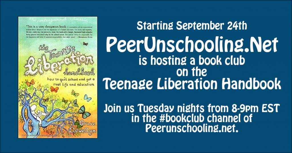 teenage liberation handbook on PUN