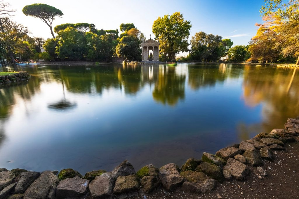 Villa Borghese is a landscape garden in the naturalistic English manner in Rome, containing a number of buildings, museums and attractions. Rome Italy