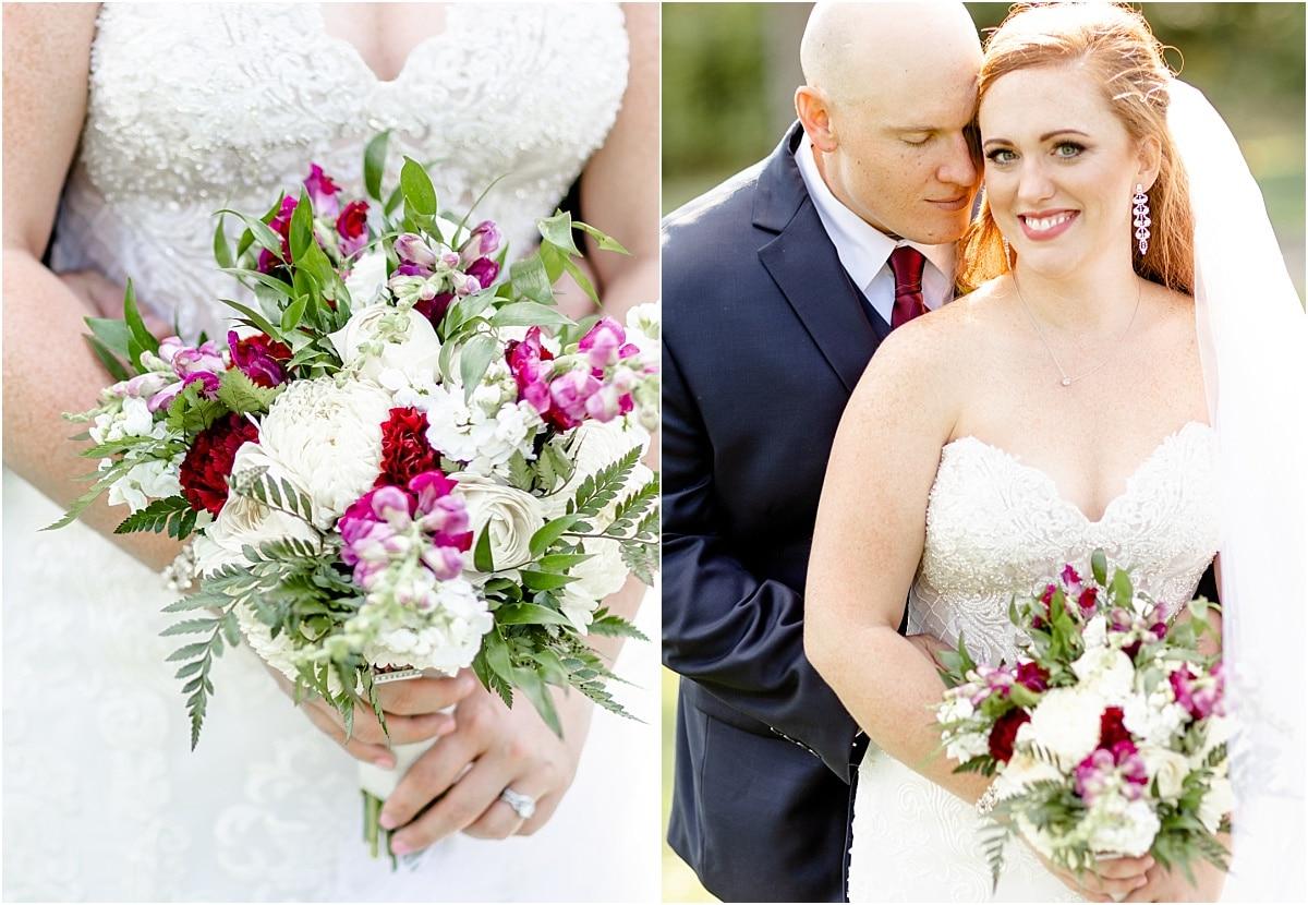 Bride and Groom Columbus Ohio