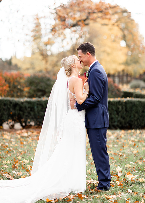 Wedding photography taken in Franklin Park Columbus Ohio.