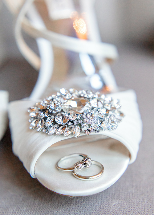 Wedding shoes by Curtis Wallis Photography - Columbus Oh Wedding Photographer