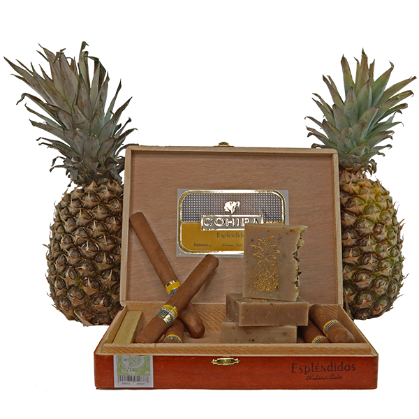 Soap with Pineapple and Cigars