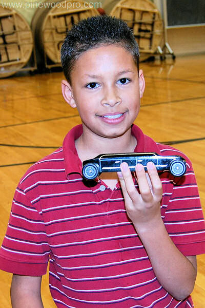 Pinewood Derby Limo Car