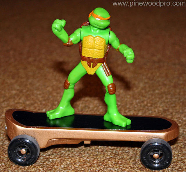 Pinewood Derby Skateboard Car Design