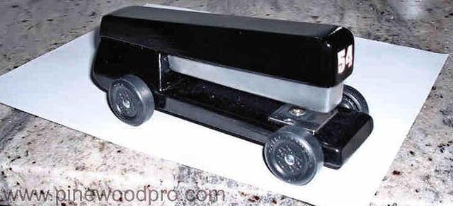 Pinewood Derby Stapler Car Design