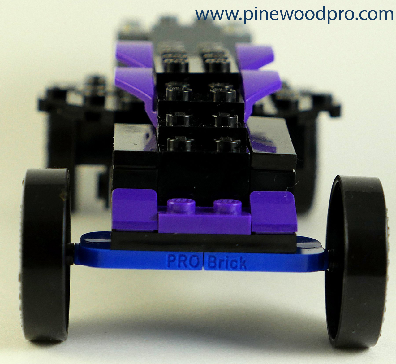 Black Widow LEGO Car