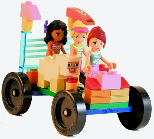LEGO Racing Girl Squad Car