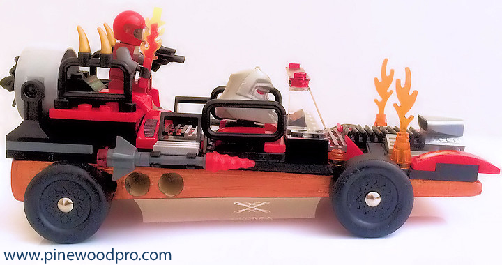 LEGO Derby Racing Fire Starter Car