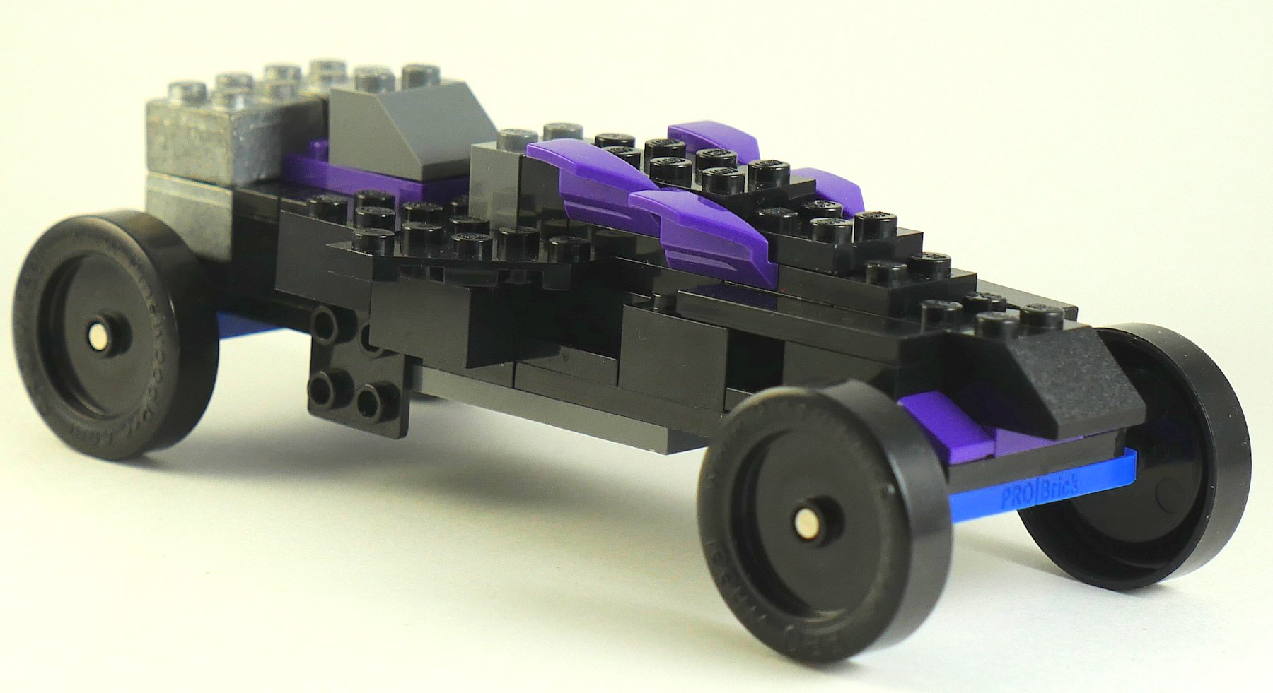 Black Widow with PRO-Brick LEGO Wheel Assembly
