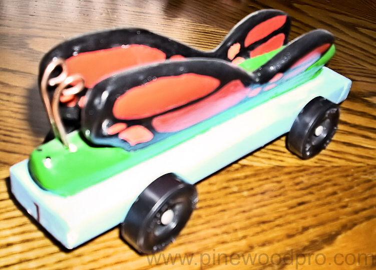 Butterfly Car Design