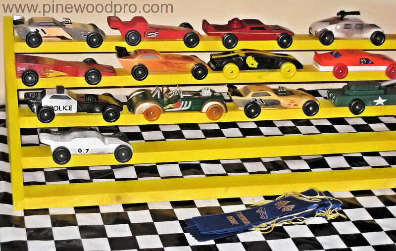 Pinewood Derby Collection Showcase