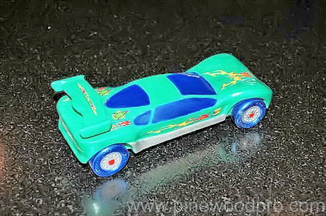 Accelleracer Car Design