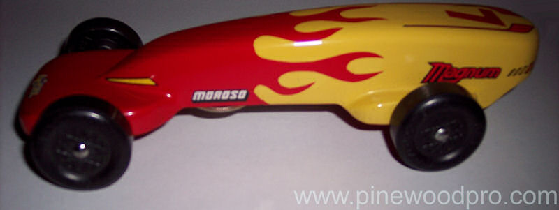 Pinewood Derby Old Magnum Car