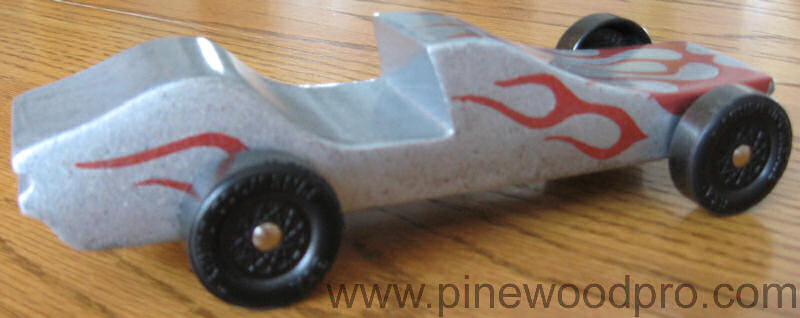 Flame Car Design