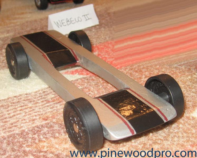 Pinewood Derby Car Design Winner