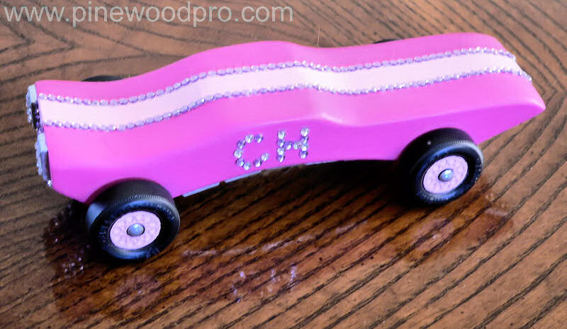 Girls Best Bling Car Design