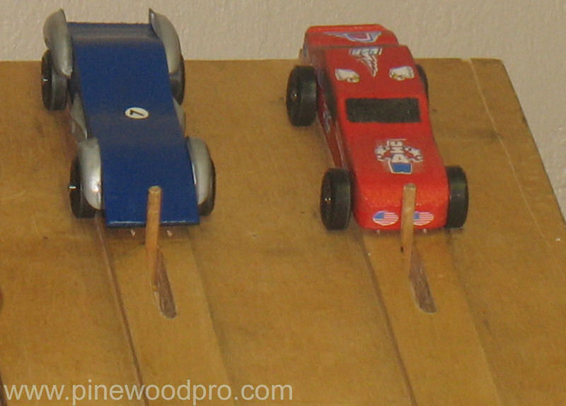 Pinewood Derby Starting Gate