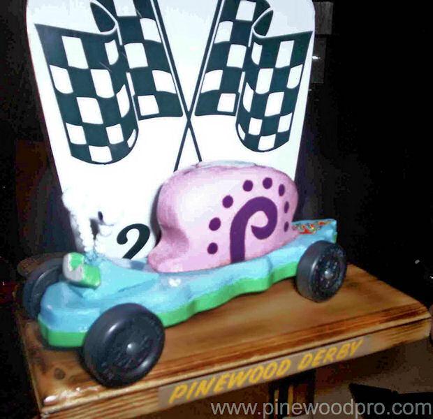 Gary the Snail Car Design