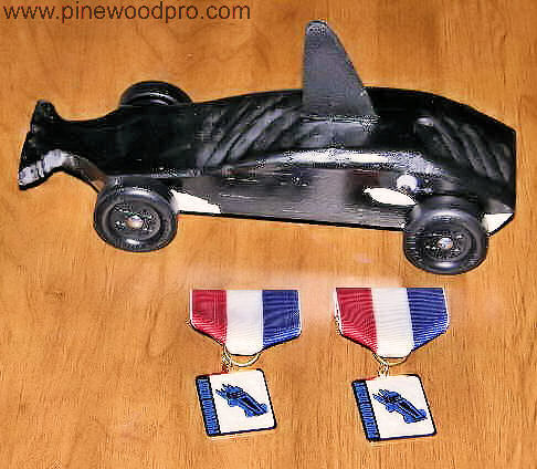 Pinewood Derby Whale Car Design