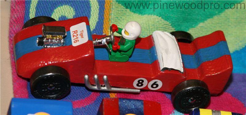 Pinewood Derby Racer Car Design