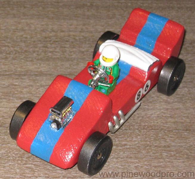 Pinewood Derby Racecar Design