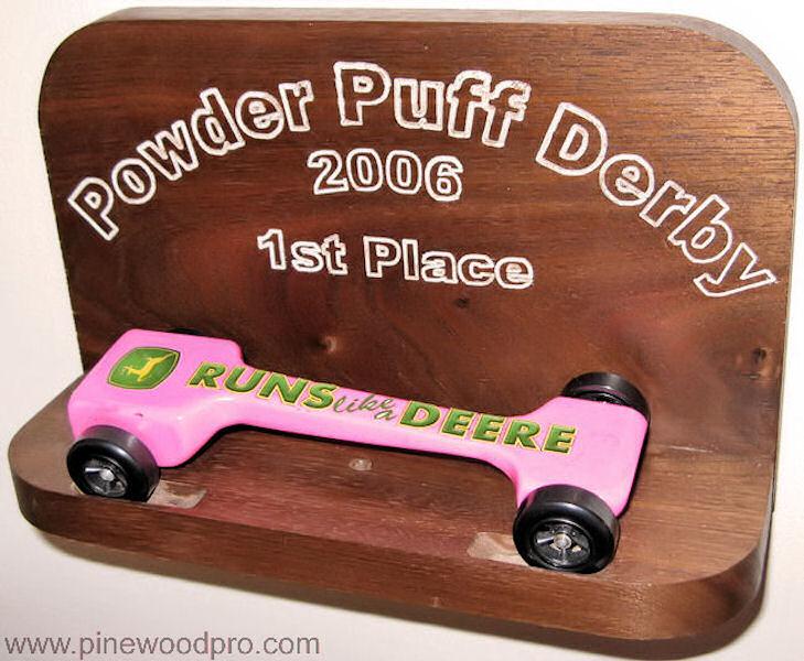 Girls Powder Puff Derby First Place