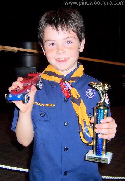 Boy Scout Trophy Winner