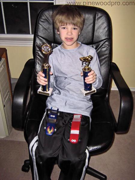 Pinewood Derby Repeat Winner