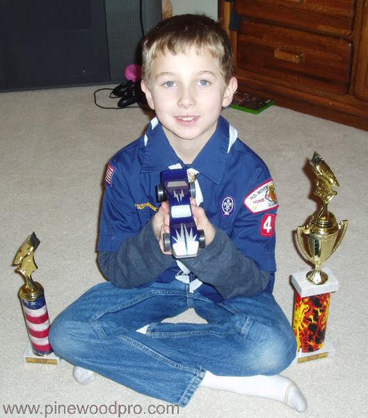 Pinewood Derby Double Winner