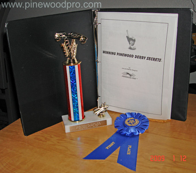 Using Winning Pinewood Derby Secrets