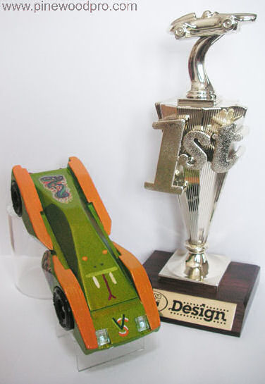 Pinewood Derby Viper Car Design Winner