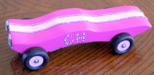 Pink Car - best bling