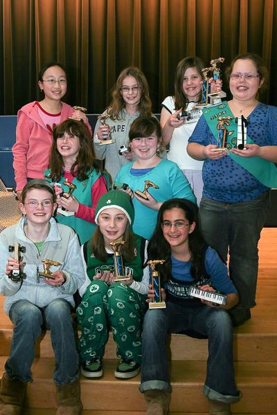 Powder Puff Winners Car Designs and Trophies