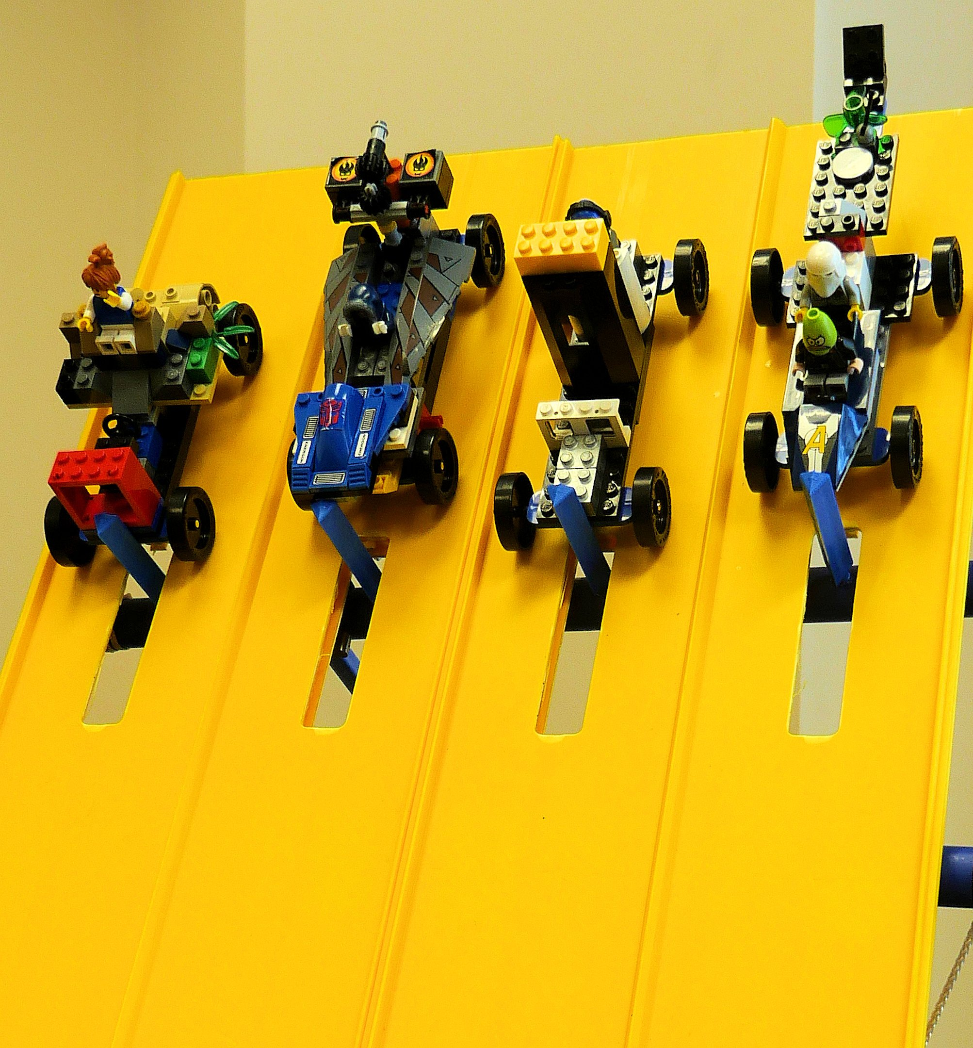 LEGO Derby Racing Starting Gate