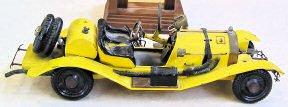 Steve Miller yellow pinewood derby - 1969