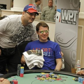 I took all of Mike Matusow's money. © WPT