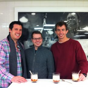 Shannon, Jack, and I at Eleven Madison Park. Shannon lost the flip and had to pay.