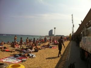 barcelona beach_mini