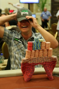 This guy is clearly having fun. © PokerListings